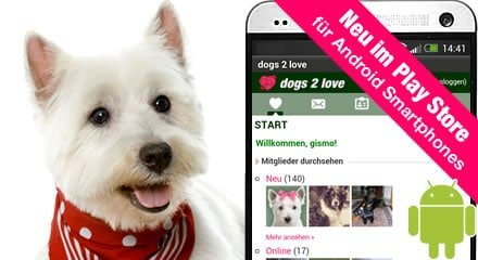 dogs2love Android-App